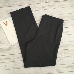 talbots womens 10 grey heritage trouser pants care